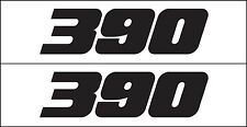 MG 2340 390 Ford Engine Decal Graphic Sticker Metro Auto Graphics