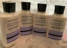 4X Bath & Body Works Lavender & Sandalwood Lotion 8 oz