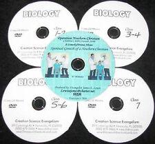 DVD+FREE 4 Hovind Biology Home School Set NEW