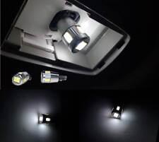 2 X ERROR FREE SAMSUNG 5630 White LED License Plate Light Bulbs Mercedes BMW