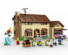 THE SIMPSONS HOUSE!  Lego 71006. Homer Marge Bart Lisa Maggie Ned Ready to ship!