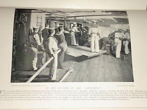 1896 22 Tonnen Verschluss Loading Guns Batterie Von Alexandra