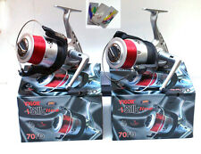 2 New Large Lineaeffe Sea Fishing Vigor Silk 70 Beach/Surf/ Pier Reels And Line