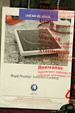 Royal Prestige Induction Cooktop Pr1037/Ss2014 Date Code 1/10/2019