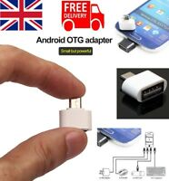 Micro USB OTG On the Go Adapter for Hard Drive Memory Stick Keyboard Mouse Phone