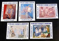 Picasso 1981, Mi.Nr. 721/25 postfrisch (P0387)