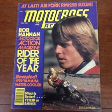 MOTOCROSS ACTION MAY 1977 YZ125 VS RM125 HANNAH GOLDEN STATE SERIES VINTAGE YZ
