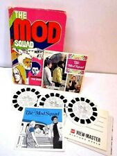 VINTAGE THE MOD SQUAD GAF VIEWMASTER & HARDCOVER BOOK ASSIGNMENT: THE HIDEOUT