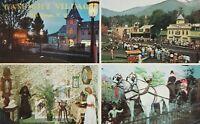 Vintage Postcard Chrome Gaslight Village Lake George New York NY