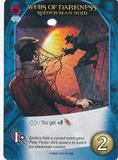 SPIDER-MAN NOIR Upper Deck Marvel Legendary NOIR WEBS OF DARKNESS