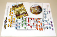 CIVILIZATION IV COMPLETE - PC DVD BOX MIT HANDBUCH - WARLORDS BEYOND THE SWORD