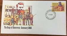 1980 ned Kelly siege of glenrowan pse with glenrowan first day cancel-nov cancel