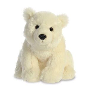 """NEW AURORA 12"""" DESTINATION NATION PLUSH POLAR BEAR CUDDLY SOFT TOY TEDDY"""