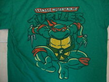 Teenage Mutant Ninja Turtles Raphael Green Cotton Soft T Shirt Size L