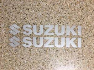 Suzuki Decals Silver Reflective Stickers Graphics Drz Rm Rmz Ts