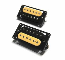 Set of zebra Adjustable poles Artec Maching Humbucker pickups HBC115