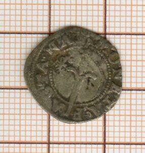 Lorraine petite monnaie à l'épé avec contremarque à l'alérion