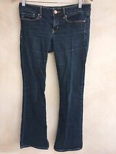 Gap Ladies Blue Denim Jeans Boot Cut 28x30 <NH2678