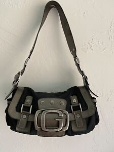 Guess Logo Atomic Baguette Bag