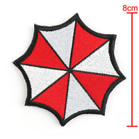 Resident Evil Embroidered Badge Patches Red Umbrella Corporation Hook Patch T5