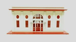 MTH 10-1070 Passenger Station 116 White and Red LN