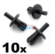 10x 8mm vauxhall astra h pare-chocs avant et calandre clips - 90450482 (04-09)