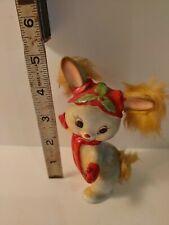 Anthropomorphic Rabbit Bunny Faux Fur Ears Japan Vintage