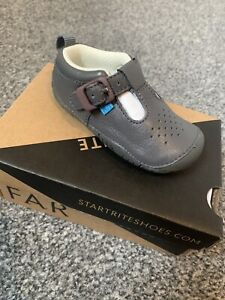 NEW Baby Startrite Shoes 3F, Grey.