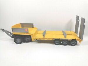 Bruder LKW Tiefladeranhänger Auflieger Dolly Aufleger Traktor Bagger Lastwagen
