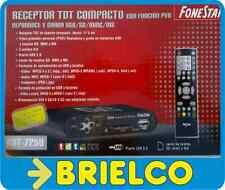 RECEPTOR TV DIGITAL TDT MINIATURA PROFESIONAL PVR GRABADOR USB SD MMC MS BD2210