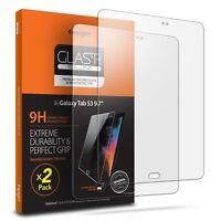 Galaxy Tab S3 9.7 Spigen®[GLAS.tR SLIM] Tempered Glass Screen Protector [2PK]