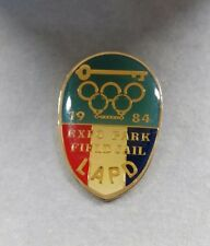 1984 Lapd Expo Park Field Jail Olympic Games Police Pin