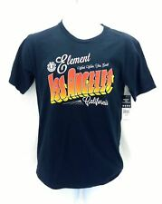 Element Mens Navy Blue Short Sleeve Las Angeles T Shirt Casual Small MSRP $22