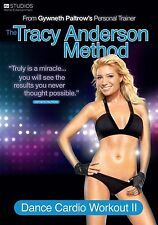 The Tracy Anderson Method - Dance Cardio Workout II (2011)  NEW SEALED UK R2 DVD