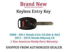Genuine OEM Honda Civic LX Keyless Remote Entry Key 2006-2011