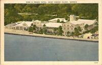 Saint Simons Island, GEORGIA - King & Prince Hotel
