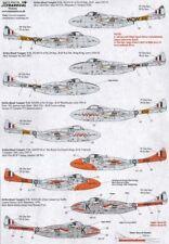 Xtradecal 1/72 de Havilland Vampire T.11 UK Part 1 # 72172