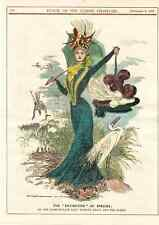 """ THE EXTINCTION OF SPECIES "" 1899."