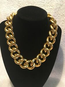 Vintage Erwin Pearl Gold Tone Link Chain Necklace