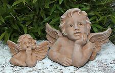 sculpture en pierre Ange Set chérubin Décoration de Jardin funéraire dessins