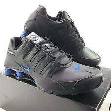 NIKE SHOX NZ ID PERSONALLY CUSTOMISED MENS LEATHER TRAINERS SIZE UK11 UNIQUE