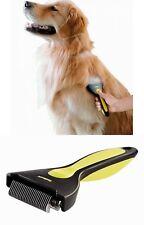 Pet Grooming Brush DeShedding Tool Comb Trim Dog Fur Removal Long Medium Coat