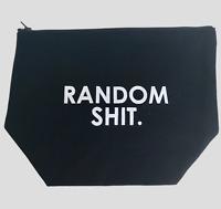 Makeup Bag | Random Sh*t Toiletry Bag | Travel Kit Cosmetic Bags | Makeup Case