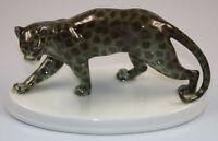 Leopard  Hutschenreuther figur figure porzellanfigur panther gepard 1930