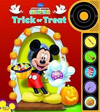 Halloween Trick or Treat Disney Mickey Mouse Clubhouse Play A Sound Book & Butto