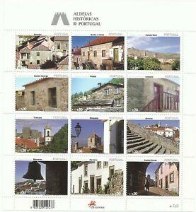 Portugal 2005 - Historic Villages mini sheet MNH