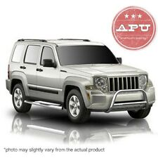 Fits 02-12 Jeep Liberty Bull Sport Bar Grill Bumper Brush Guard Stainless by APU