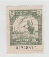 Spain Cinderella Revenue fiscal Stamp 1-9b- Marruecos - no gum- nice