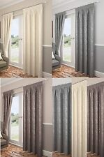 Carlton Tape Top Curtains,Leaf Trail Fully Lined Woven Jacquard Fabric.Great Buy