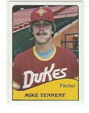 1979 TCMA BASEBALL MIKE TENNENT #2 - ALBUQUERQUE DUKES